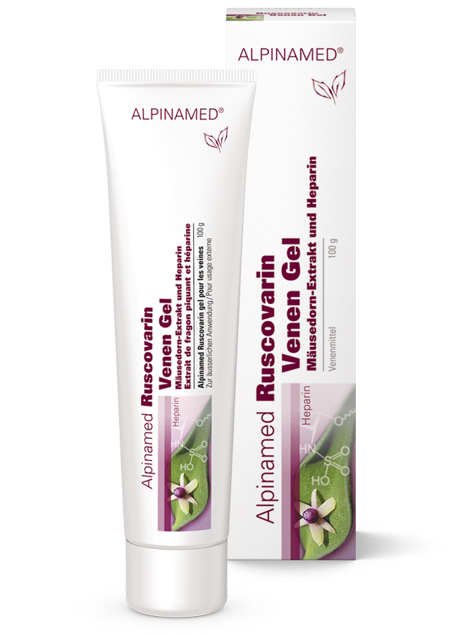 Ruscovarin Venen Gel- Alpinamed AG - naturally healthy