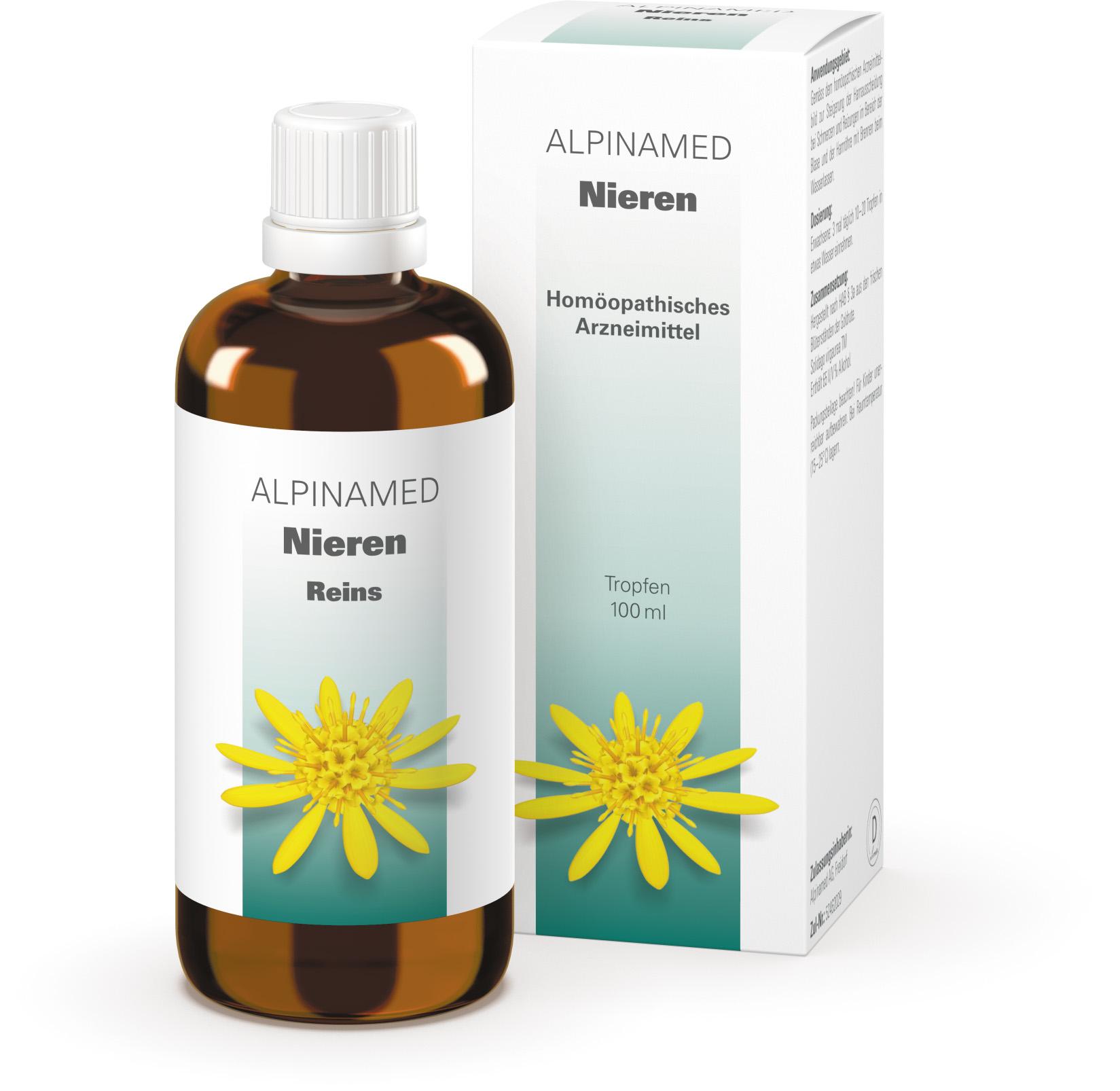 Nieren Tropfen: Alpinamed AG - natürlich gesund